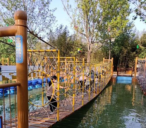 漯河市神州鸟园水上趣桥项目